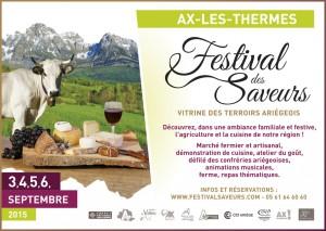 Festival des saveurs et marché artisanal
