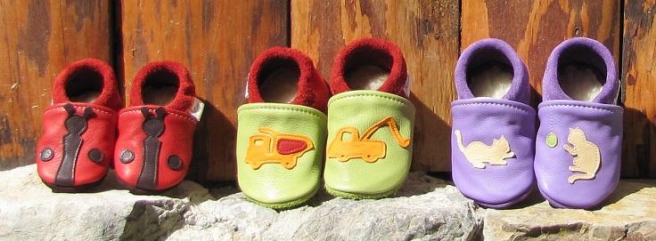 Les chaussons Patchok pour bébé et enfant, une large gamme made in France