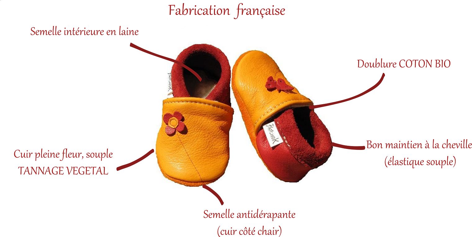 Chaussons fabriqués en France