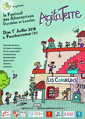 fastival des alternatives durables et locales AGITATERRE 2018