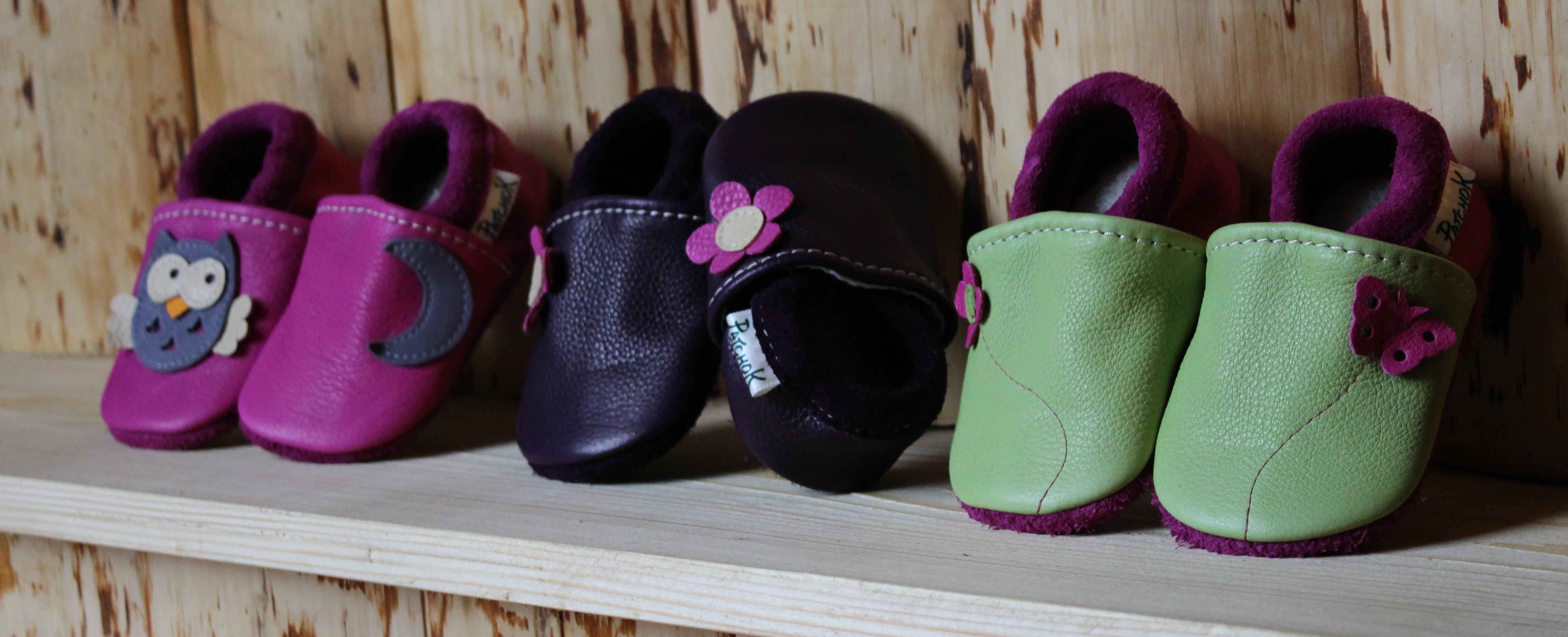 Chaussons Patchok pour bébé et enfant, gamme made in France